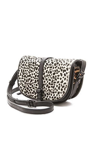 Derek Lam 10 Crosby Leopard Lola Haircalf Bag