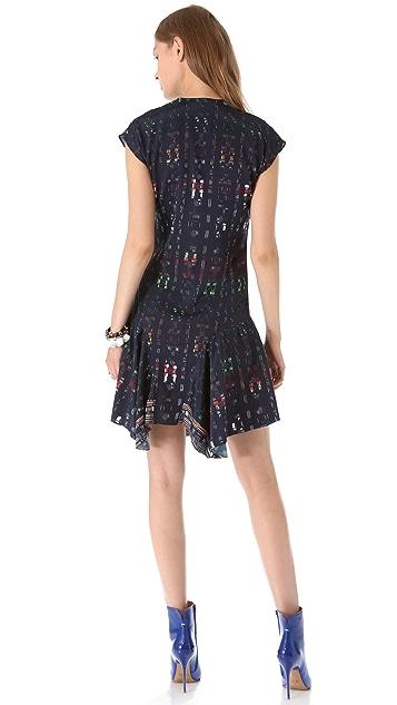 Derek Lam 10 Crosby Flounce Dress