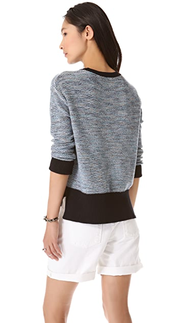 Derek Lam 10 Crosby Side Slit Sweater