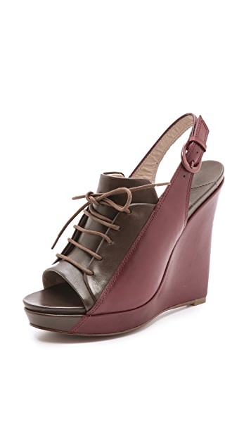 Derek Lam 10 Crosby Gi Bicolor Wedges