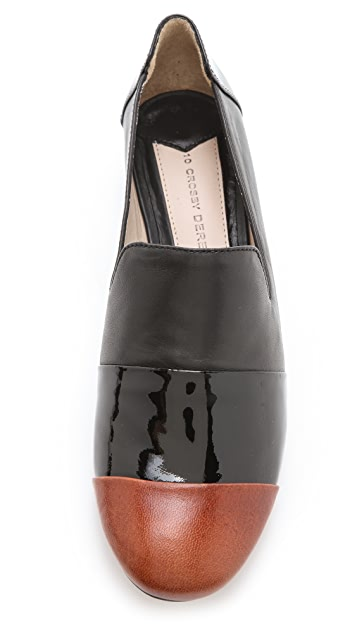 Derek Lam 10 Crosby Lex Wedge Flats