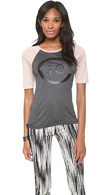 Derek Lam 10 Crosby Short Sleeve Logo T-Shirt