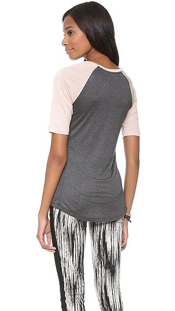 Derek Lam 10 Crosby Short Sleeve Logo T-Shirt
