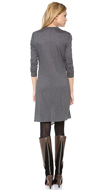Derek Lam 10 Crosby Cross Front Dress