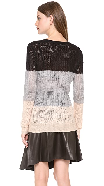 Derek Lam 10 Crosby Colorblock Sweater