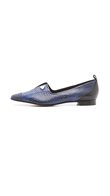 Derek Lam 10 Crosby Romee Too Slit Loafers