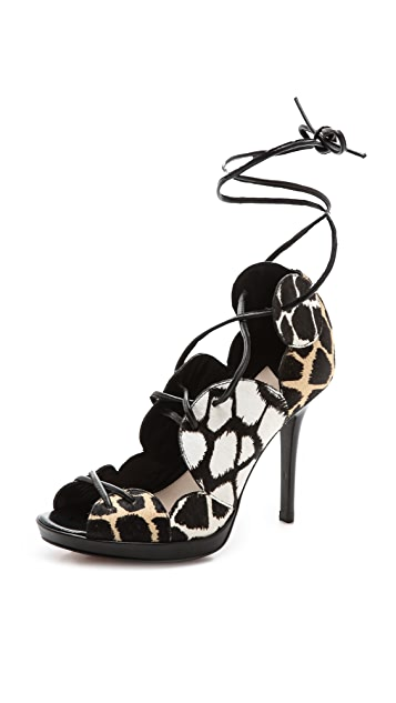 Derek Lam 10 Crosby Jardie Lace Up Booties
