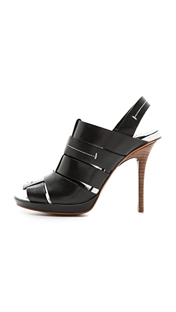 Derek Lam 10 Crosby Jillian Slingback Sandals