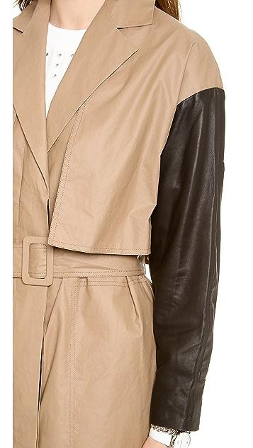 Derek Lam 10 Crosby Belted Trench Coat