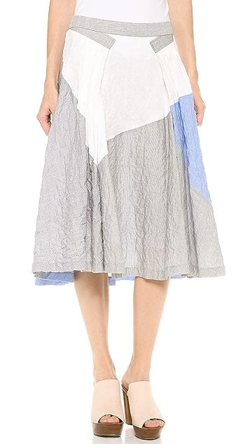 Derek Lam 10 Crosby Full Skirt