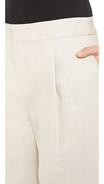 Derek Lam 10 Crosby Hemp Trousers