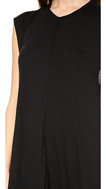 Derek Lam 10 Crosby Easy Center Seam Dress