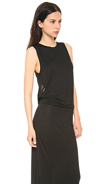 Derek Lam 10 Crosby Knit Back Maxi Dress