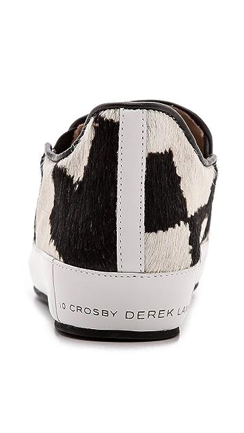 Derek Lam 10 Crosby Jared Slip On Haircalf Sneakers
