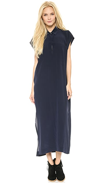 Derek Lam 10 Crosby Two Pocket Maxi Dress