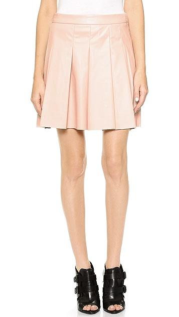 Derek Lam 10 Crosby Box Pleat Skirt
