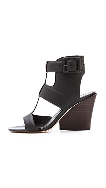 Derek Lam 10 Crosby Campbell Wedge Sandals