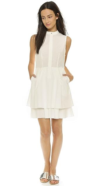 Derek Lam 10 Crosby Платье-рубашка на пуговицах
