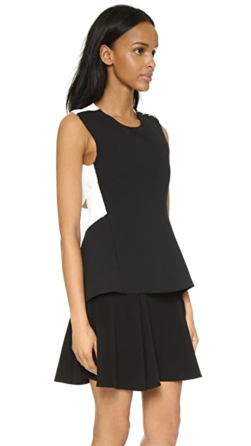 Derek Lam 10 Crosby Sleeveless Dress with Flared Skirt