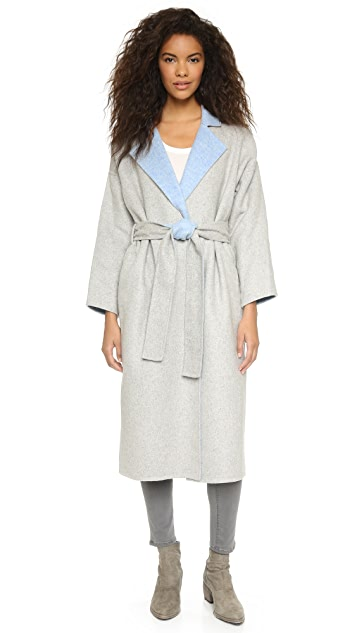Derek Lam 10 Crosby Drop Shoulder Trench Coat