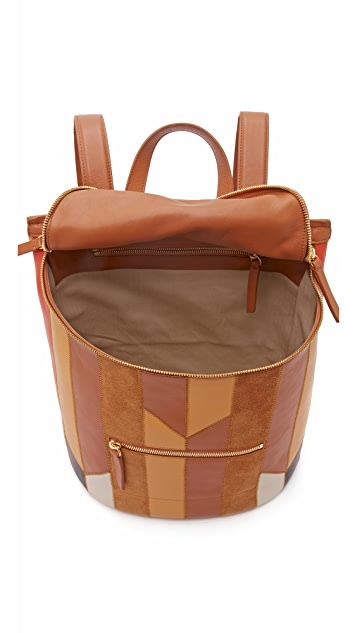 Derek Lam 10 Crosby Patchwork Mercer Backpack