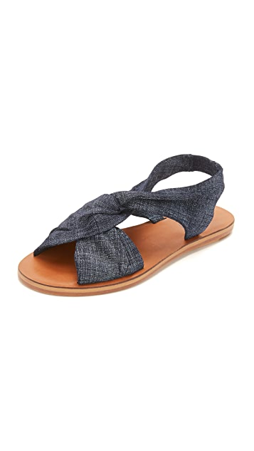 Derek Lam 10 Crosby Pell Flat Sandals