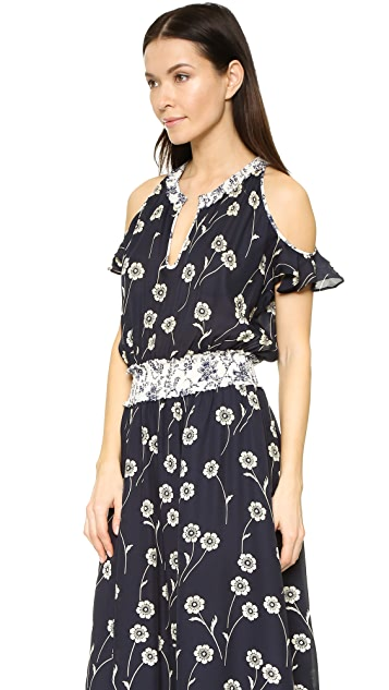 Derek Lam 10 Crosby Cold Shoulder Dress