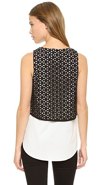 Derek Lam 10 Crosby 2 in 1 Tank