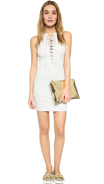 Derek Lam 10 Crosby Lace Up Tank Dress