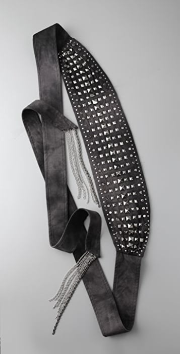 CECILIA DE BUCOURT Square Stud Belt