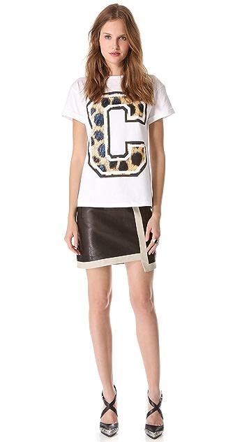 Etre Cecile Big C Cheetah Tee