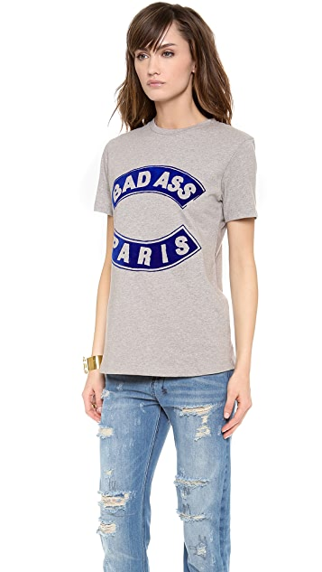 Etre Cecile Bad Ass Flocked T-Shirt