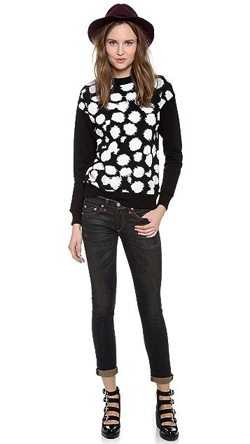 Etre Cecile Cheetah Sweatshirt