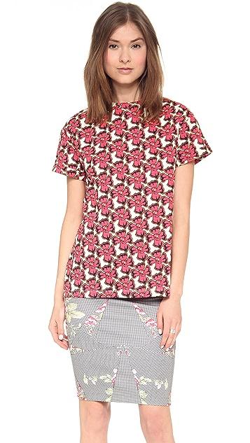 Etre Cecile Neon Floral T-Shirt
