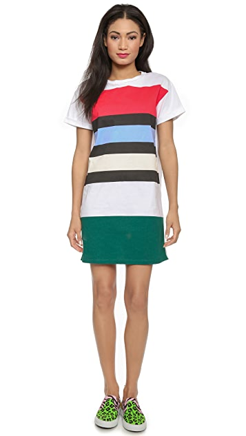 Etre Cecile Big Stripe Oversized Dress