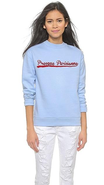 Etre Cecile Presque Parisienne Boyfriend Sweater