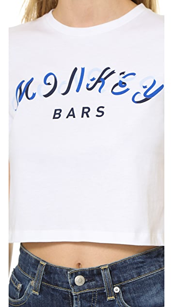 Etre Cecile Monkey Bars Crop T-Shirt