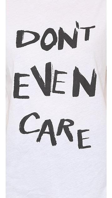 Etre Cecile Don't Even Care Oversize T-Shirt