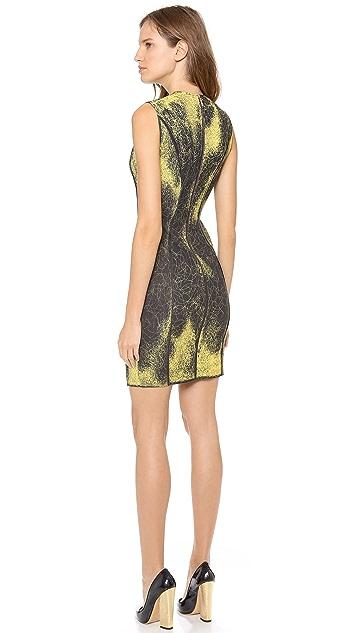 Cedric Charlier Sleeveless Printed Dress