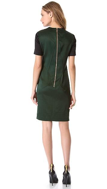 Cedric Charlier Seam Front Dress