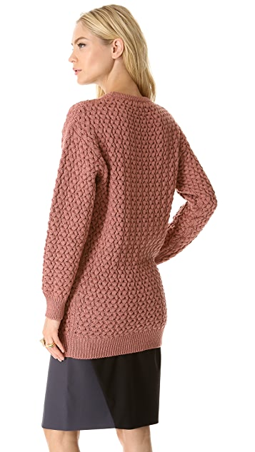 Cedric Charlier Chunky Knit Sweater