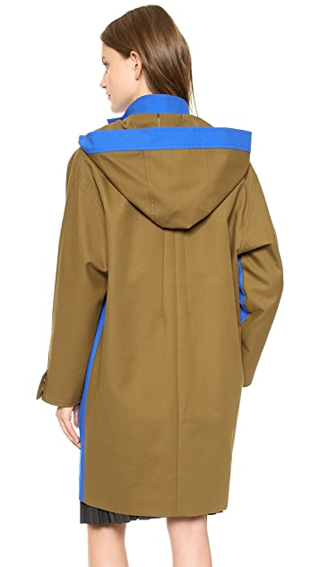 Cedric Charlier Cotton Utility Coat