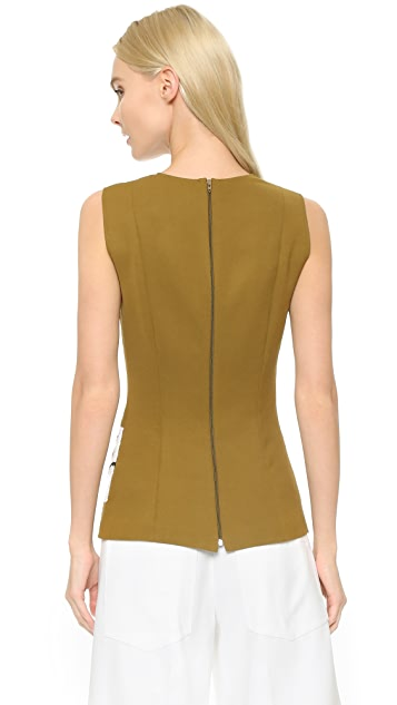 Cedric Charlier Sequin Sleeveless Top