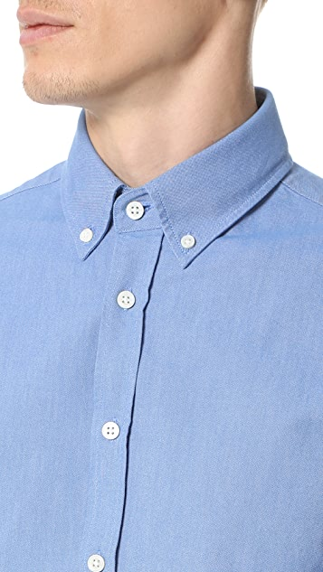 Capital Goods Button Down Oxford Shirt