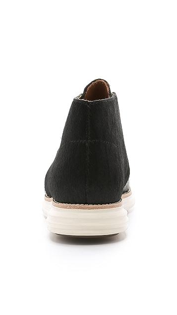 Cole Haan Lunargrand Haircalf Chukka Boots