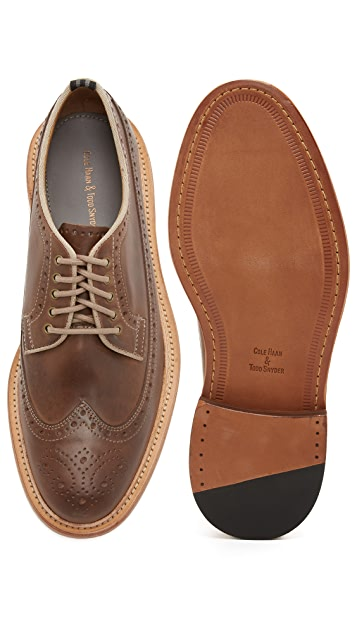 Cole Haan Todd Snyder X Cole Haan Willet Longwing Oxfords