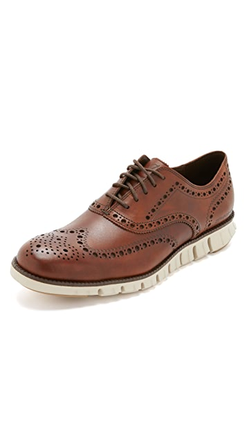 Cole Haan Zerogrand Wingtip Oxford Shoes ...