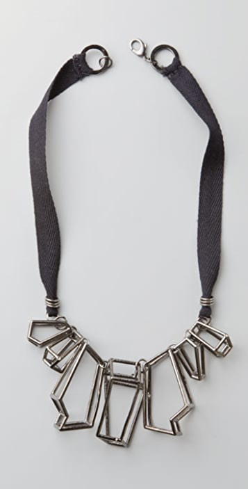 CHRISHABANA Cage Quartz Necklace