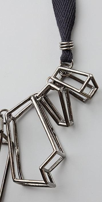 CHRISHABANA Cage Quartz Necklace