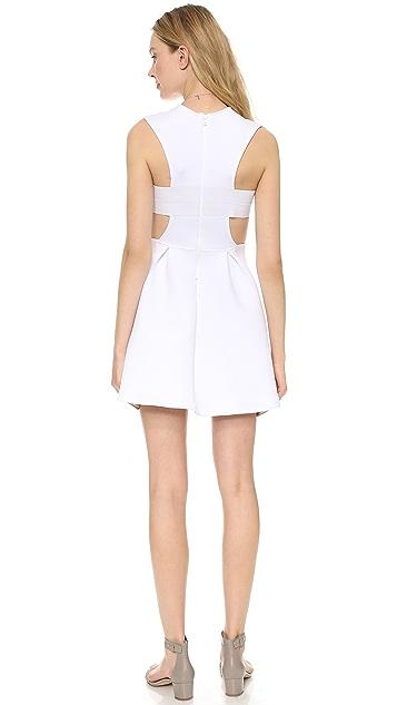 Chalk Field Side Cutout Dress